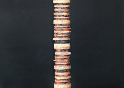 "Reclamation.  Pipe.   50"" tall.  2012.  Photo credit - Cathie Ferguson"