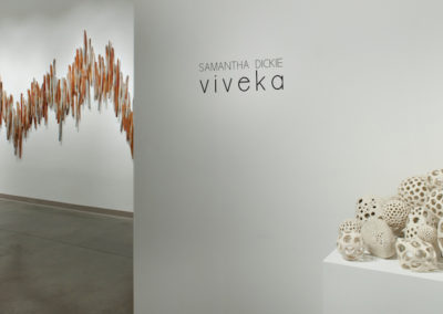 Viveka. Viveka. Seymour Public Art Gallery, North Vancouver.  2017.  Photo credit: Cathie Ferguson