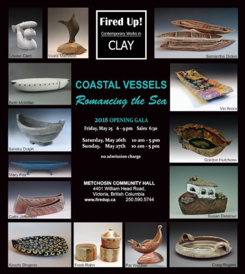 Fired Up! Contemporary Works in Clay 2018