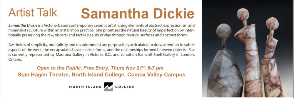 North Island College Artist Talk Series