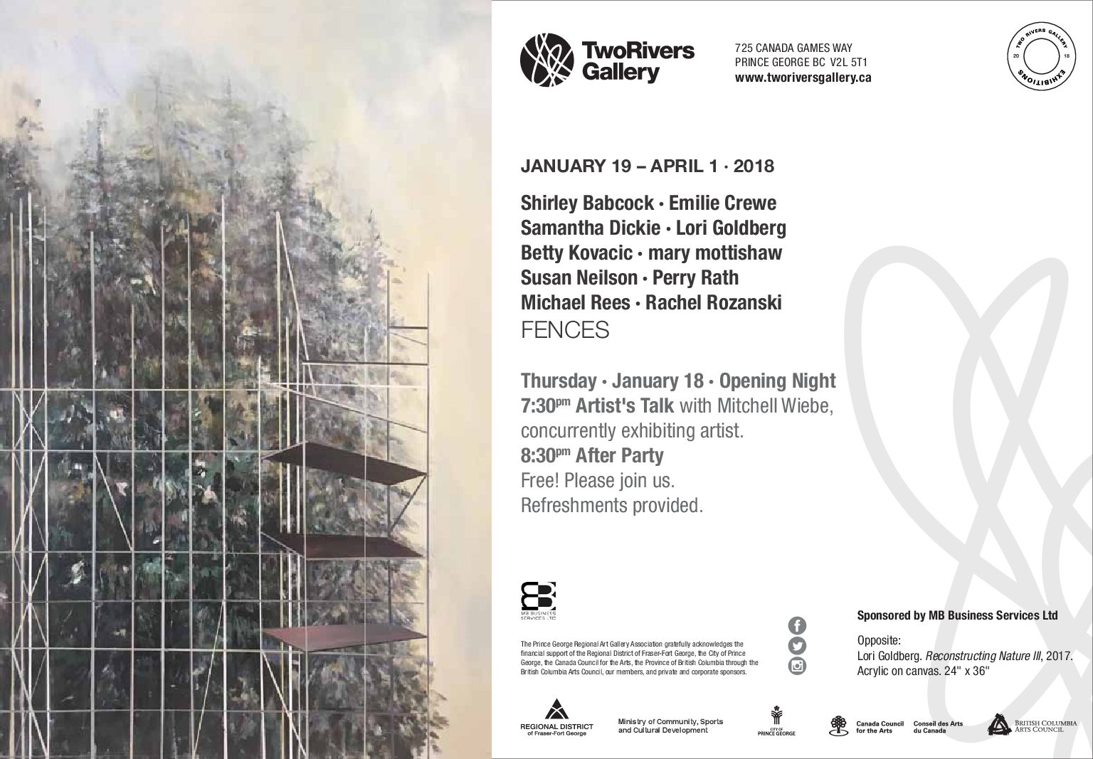 Fences Exhibition at Two Rivers Gallery