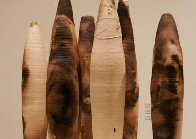 Elusive Conatainment.  Yukon Centre Public Art Gallery.  7 components.  2006