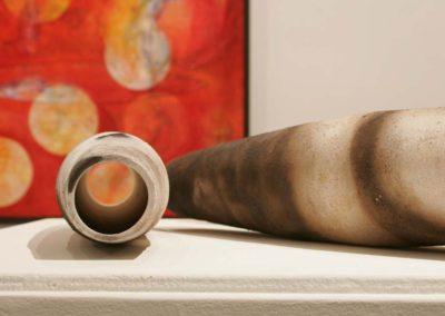 Elusive Conatainment.  Yukon Centre Public Art Gallery.  Detail.  2006