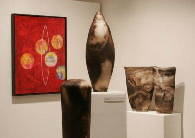 Elusive Conatainment.  Yukon Centre Public Art Gallery.  2006