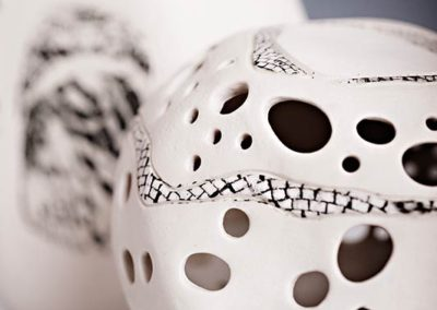 Porcelain detail.  2016.  Photo credit: Cathie Ferguson